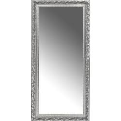 Espelho Moldura Prata Trabalhada