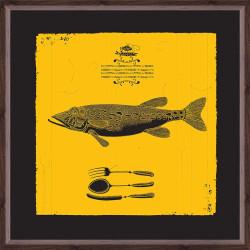 Quadro Peixe Esox