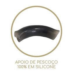 Protetor de pescoço de silicone